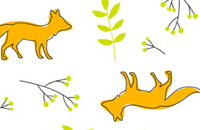 LILLYDOO Windel Design Fantastic Foxes