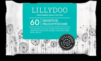 LILLYDOO Sensitive Feuchttücher